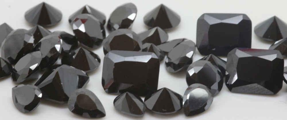 Cubic Zirconia Black