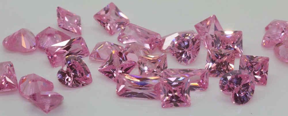 Cubic Zirconia Pink