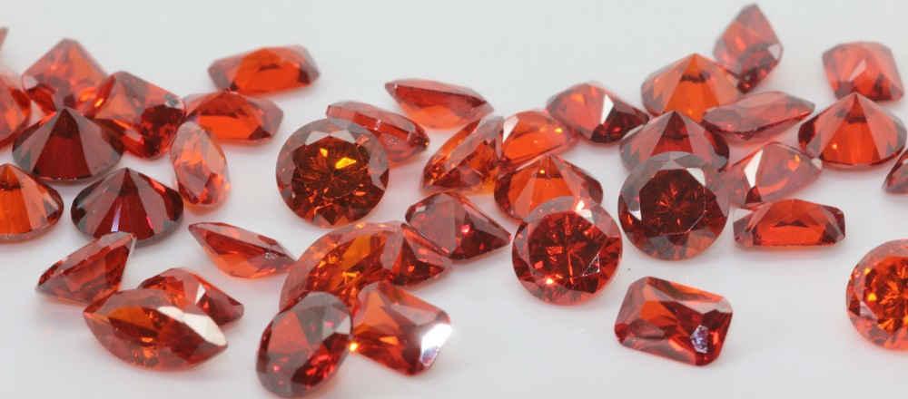 Cubic Zirconia Red