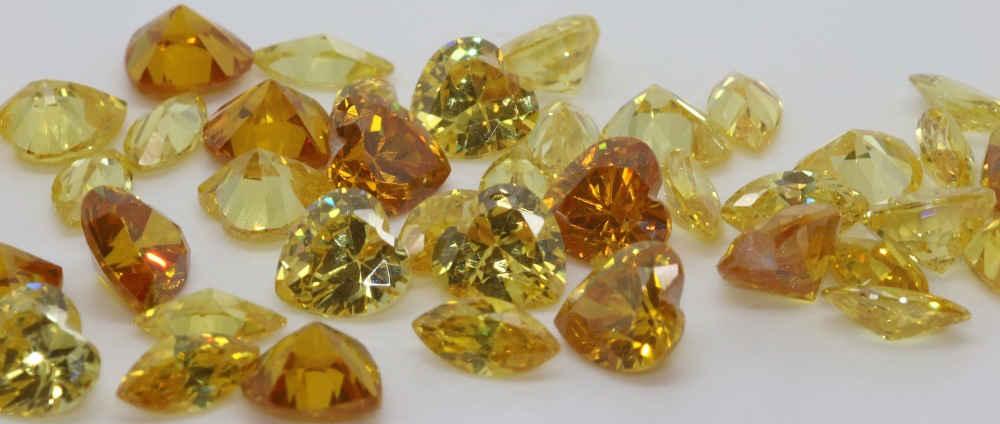 Cubic Zirconia Yellow
