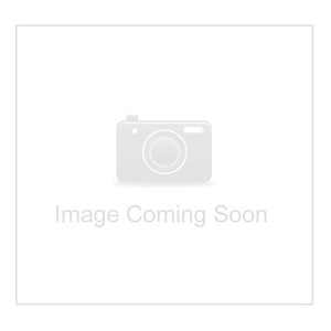 9mm Round quartz green