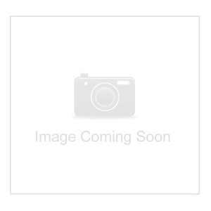 8.6x7.7mm Oval Brown zircon